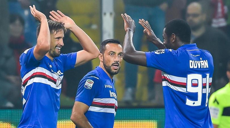 Serie A, Genoa-Sampdoria 0-2: in gol Ramirez e Quagliarella