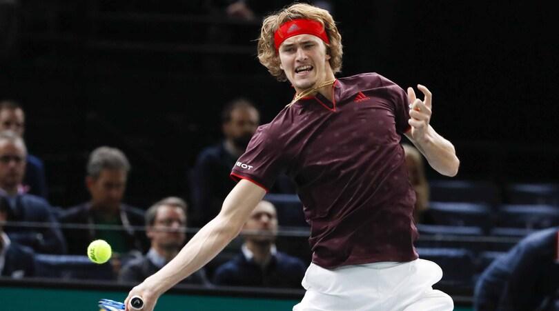 Tennis, classifica Atp: Nadal stabile al primo, avanza Zverev
