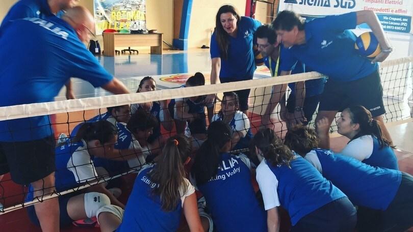 Sitting Volley: esordio vincente della nazionale femminile agli Europei