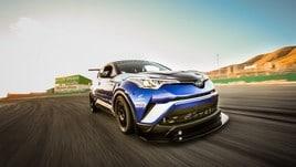 Toyota, una C-HR da 600 cavalli pronta per il record