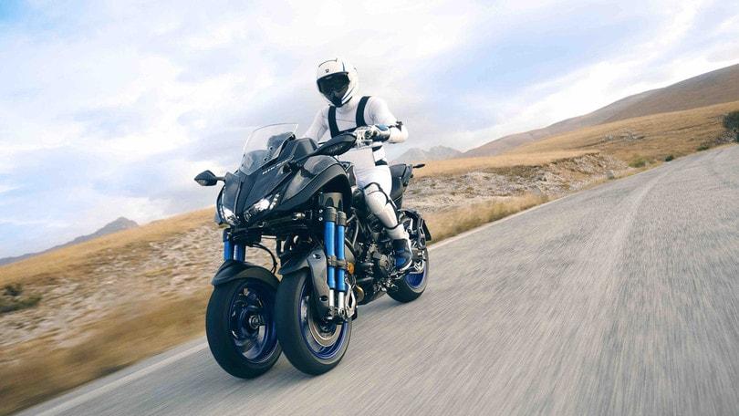 EICMA, Yamaha Niken: i dettagli della moto a tre ruote
