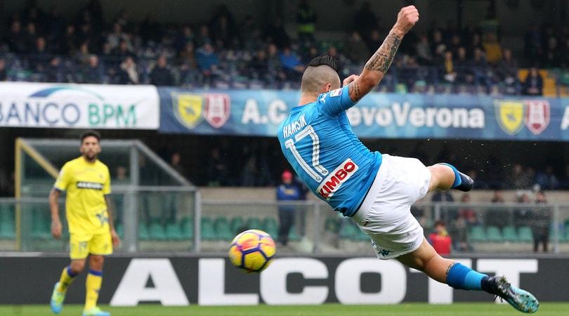Hamsik:«Il pari col Chievo? Colpa del City, ma il Napoli c'è»