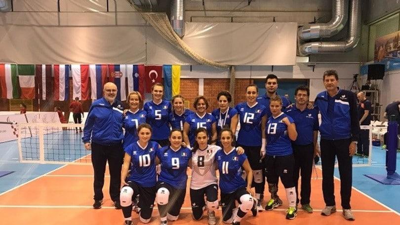 Sitting Volley: l'Italia femminile cade contro l'Olanda