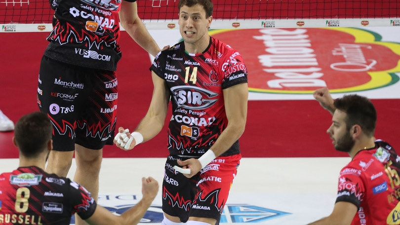 Volley: Champions League, Perugia mercoledì a Minsk per l'andata dell'ultimo preliminare