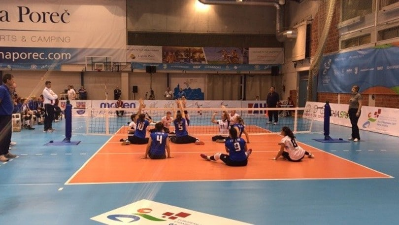 Sitting Volley: agli Europei l'Italia cede anche alla Russia