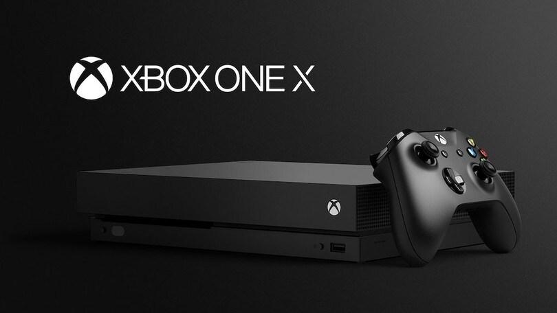 Xbox One X: arriva sul mercato la nuova console