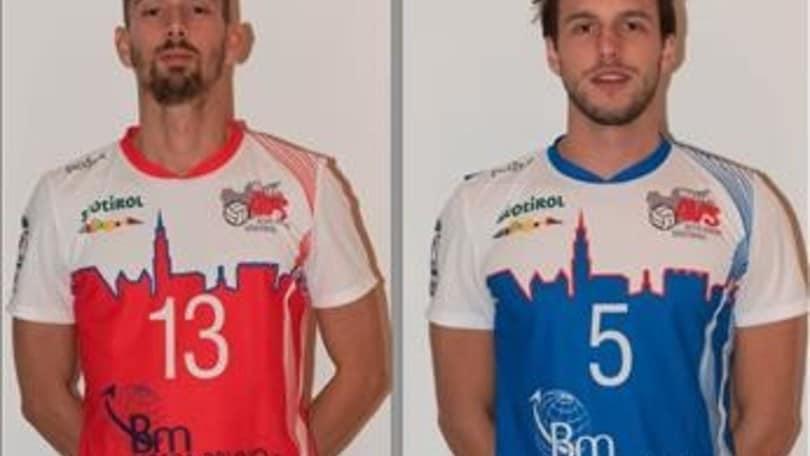 Volley: A2 Maschile, Bolzano perde per tre mesi Zappoli e Thei