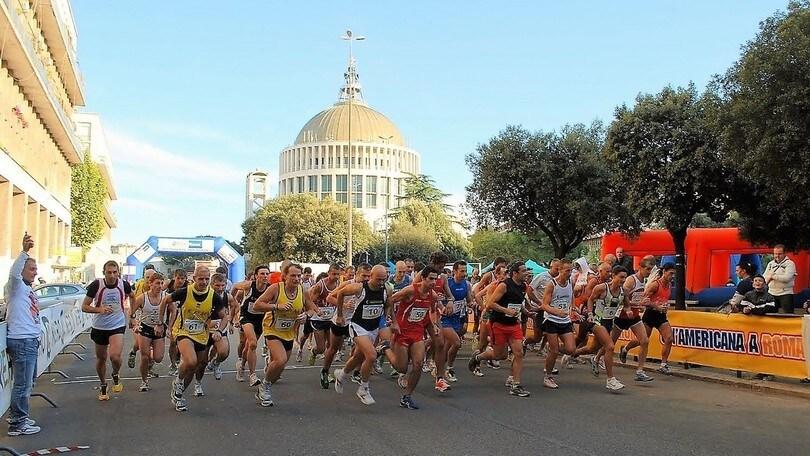 Una domenica di corsa con Un'americana a Roma