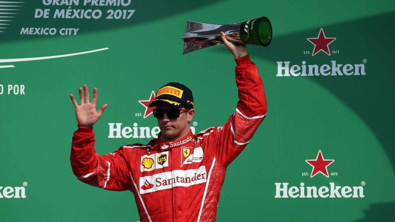 F1 Ferrari, Raikkonen: «L'anno prossimo voglio lottare per vincere»