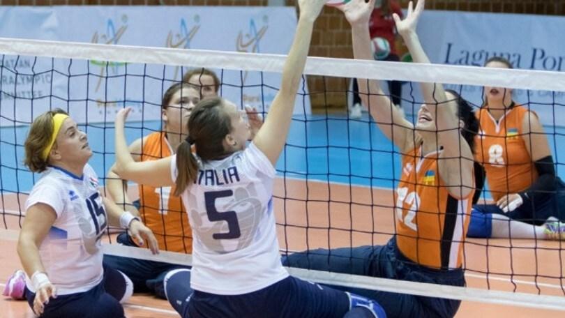 Sitting Volley: l'Italia Femminile chiude l'Europeo al 7° posto