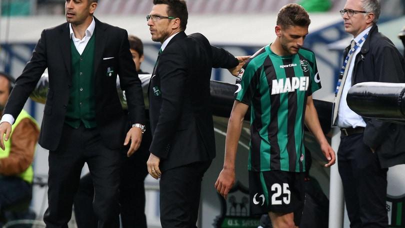 Calciomercato Sassuolo, L'agente di Berardi: «Un onore tornare da Di Francesco»