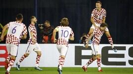 Mondiali 2018: Croazia-Grecia 4-1, Irlanda del Nord-Svizzera 0-1