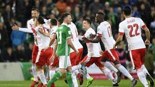 Irlanda del Nord-Svizzera 0-1, Rodriguez di rigore