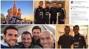 Del Piero con Dybala, Aguero e Messi: «E ora la 10 chi la indossa?»