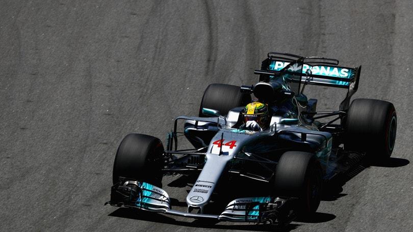 F1 Gp Brasile: prime libere ad Hamilton, Raikkonen terzo