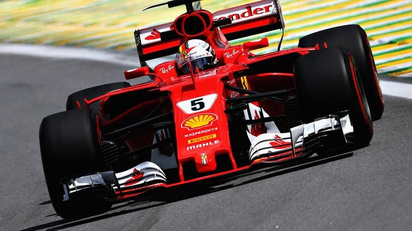 F1 Ferrari, Vettel: «Mercedes molto veloce»