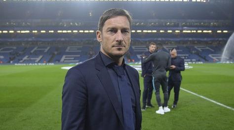 Roma-Lazio, Totti: «Un derby così emozione nuova»