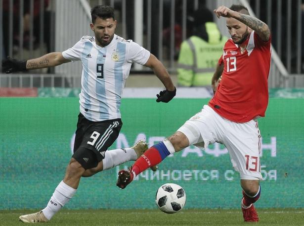 Argentina in forma Mondiale:Agüero stende la Russia