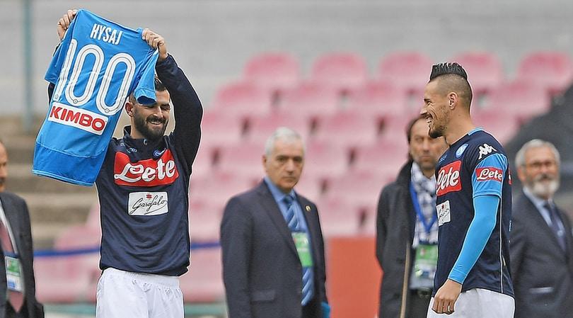 Hysaj, in testa c'è sempre il Napoli:«Prendiamoci lo Scudetto»