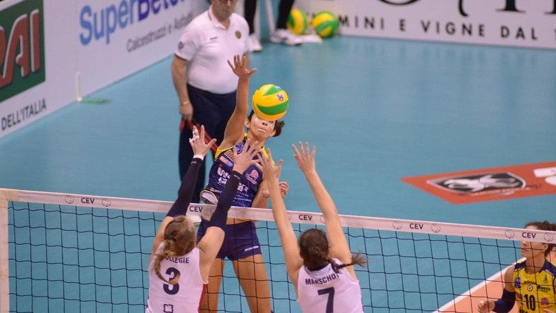 Volley: Champions Femminile, Conegliano è alla fase a Gironi