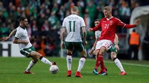 Danimarca-Irlanda 0-0: il film della partita