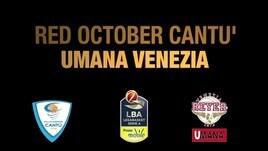 Red October Cantù-Umana Venezia