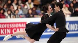 Pattinaggio su ghiaccio, figura: terzo posto per Cappellini-Lanotte