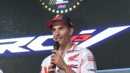 Moto Gp: Dovizioso cade, Marquez campione