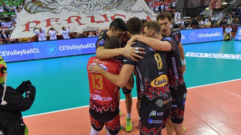 Volley: Champions League, Perugia travolge lo Shakhtior ed è qualificata