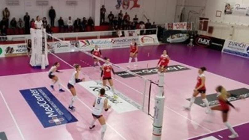 Volley: A2 Femminile, Cuneo e Battistelli cadono in casa