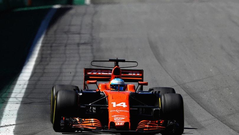 F1, Alonso: «Sconcertante la nostra mancanza di potenza»