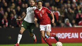 Mondiali 2018, per Irlanda-Danimarca quote da Under