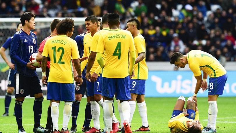 Amichevoli: Inghilterra-Brasile, verdeoro favoriti a 1,70