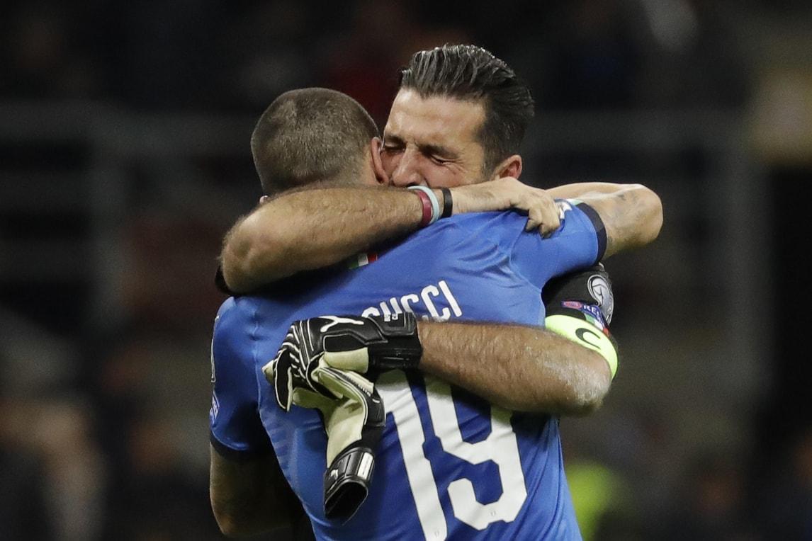 Delusione Italia a San Siro: Buffon e gli altri azzurri in lacrime