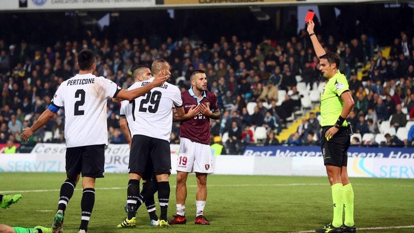 Serie B, un turno di squalifica a Gatto della Salernitana