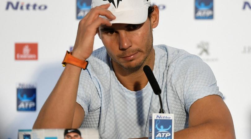Nadal, debutto amaro alle Atp Finals: «La mia stagione finisce qui»
