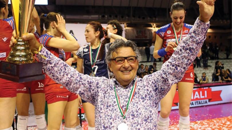 """Volley: A1 Femminile, A Foppapedretti il premio """"Sport e Impresa"""""""