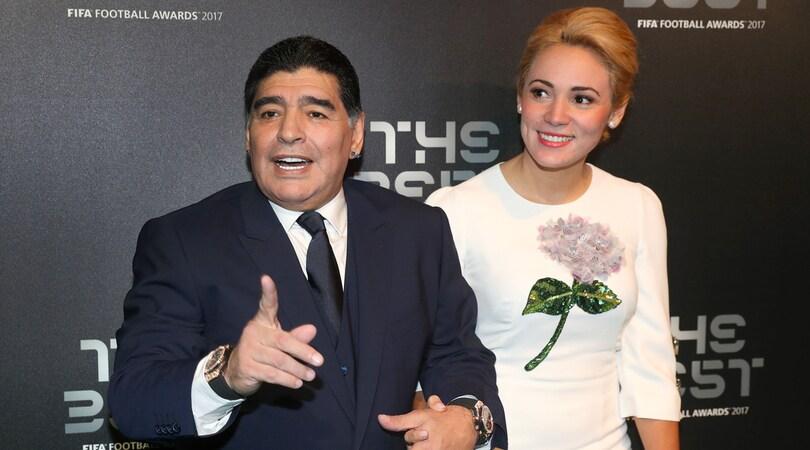 Maradona: «È triste vedere l'Italia fuori dai Mondiali»