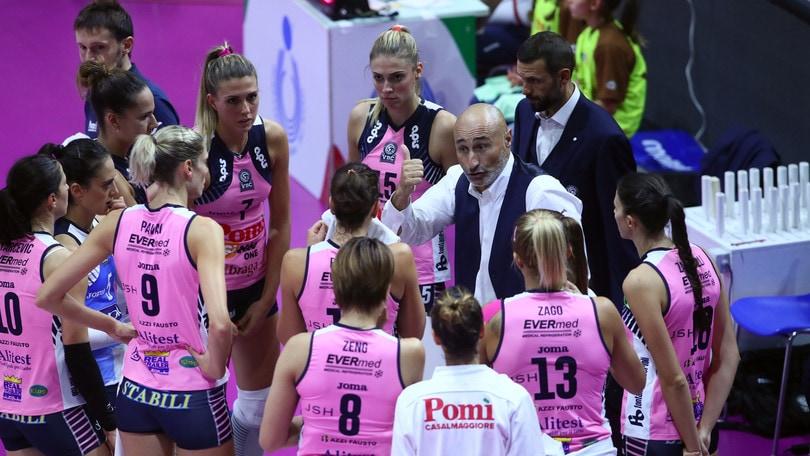 Volley: A1 Femminile, la Pomì esonera Abbondanza, al suo posto Lucchi
