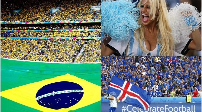 Mondiali 2018: per quale squadra tiferanno gli italiani?