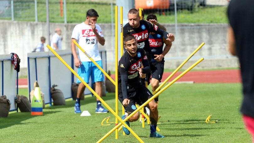 Serie A Napoli, Insigne e Zielinski fanno differenziato