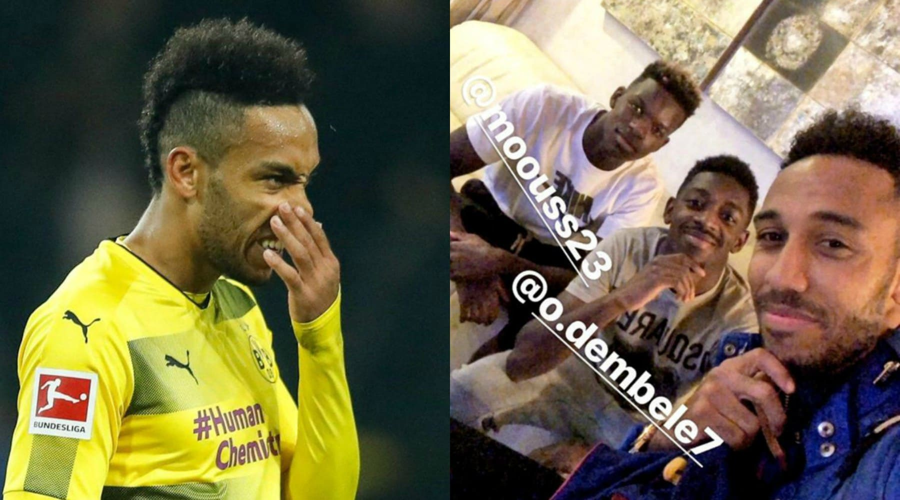 Borussia Dortmund, bufera su Aubameyang: escluso per motivi disciplinari