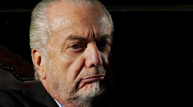 Napoli, De Laurentiis: «Tavecchio? Chiedete a lui quando lascerà la poltrona»