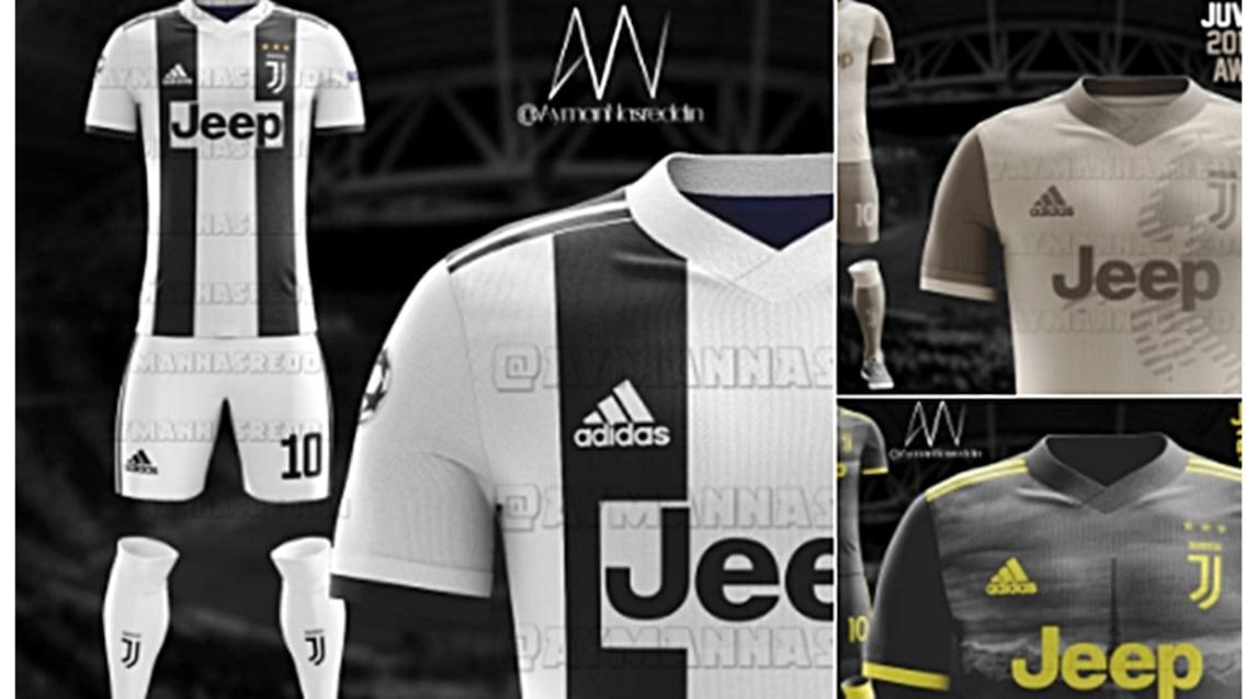 abbastanza Juventus, in Rete le idee per le nuove maglie 2018/2019 - Corriere  WL36