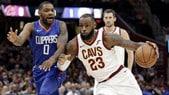 Poker dei Cavs contro i Clippers. Gli Spurs schiantano i Thunder  in rimonta