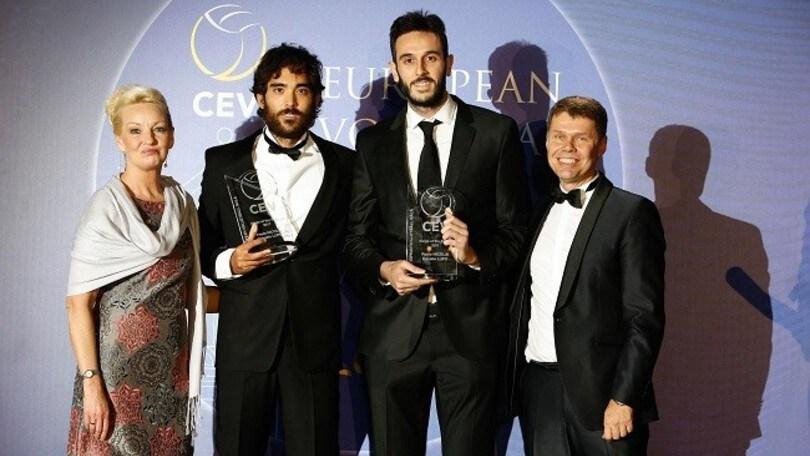 Beach Volley: Lupo-Nicolai premiati al Gala della Cev