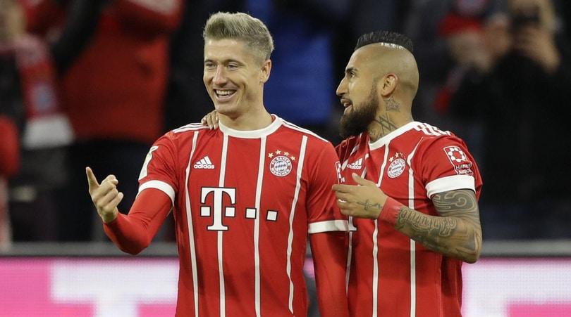 Bundesliga, tris Bayern prende il volo: frenano Lipsia e Francoforte