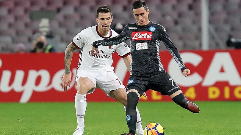 Serie A Napoli-Milan 2-1, il tabellino