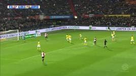 Feyenoord, il tributo dei tifosi al figlio di Jones