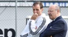 Juventus, Marotta:«Allegri non è tentato dalla Nazionale. Higuain? Andrà ai Mondiali»